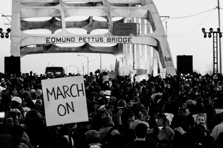 50th anniversary of the Selma to Montgomery voting rights March