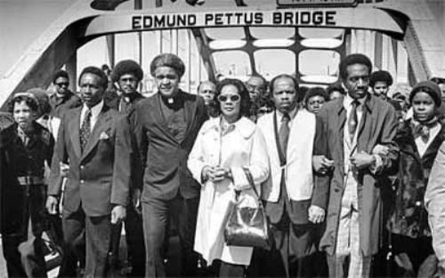 March from Selma to Montgomery, Alabama, 50 years ago, in 1965