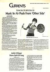 Jenifer Whisper -San Diego Union 1981